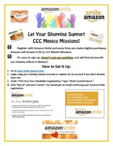 Amazon Smile Flyer CCC