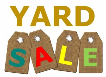 Yard Sale with Tags