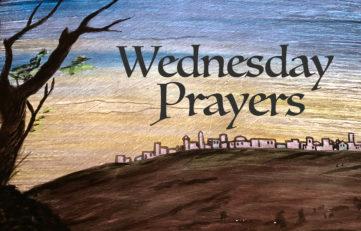 Wednesday Prayers with Jerusalem