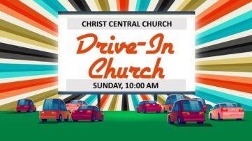 Drive In Church Sunday
