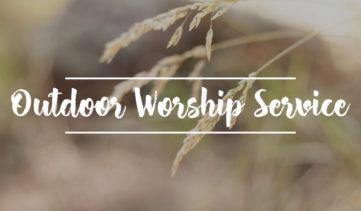 Outdoor Worship Service