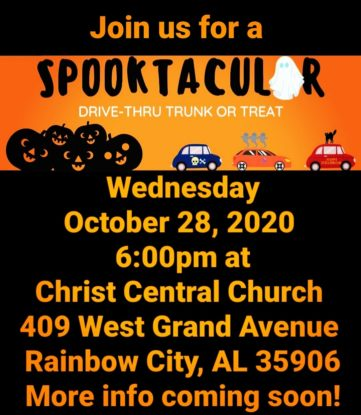 Spooktacular Trunk or Treat
