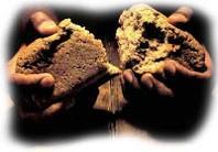 Bread being Broken