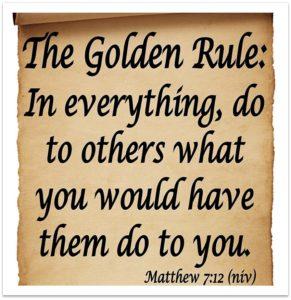 The Goilden Rule